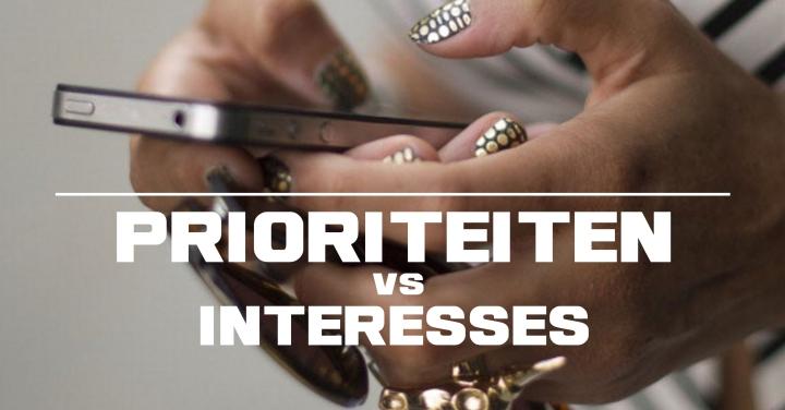 Prioriteiten vs interesse 4