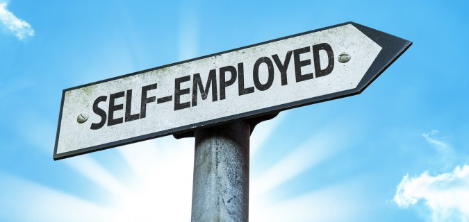 bigstock-Self-Employed-sign-with-a-beau-82320527-675x320